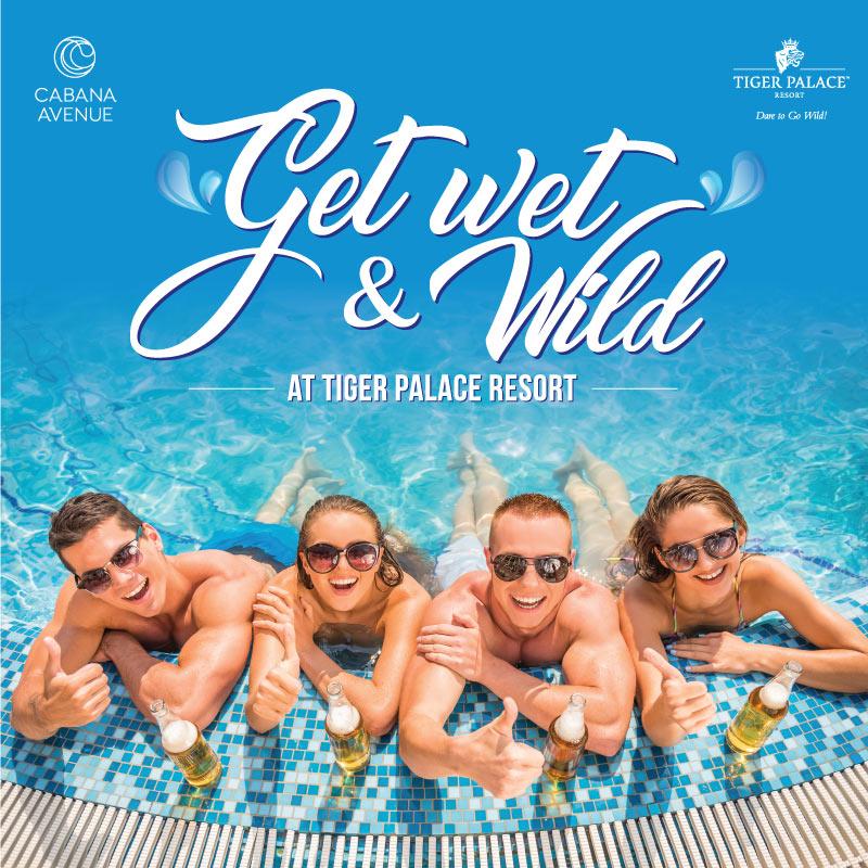Pool Party at tiger palace resort