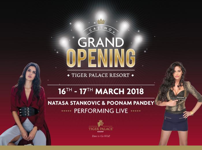 Casino Grand Opening Tiger Palace Resort