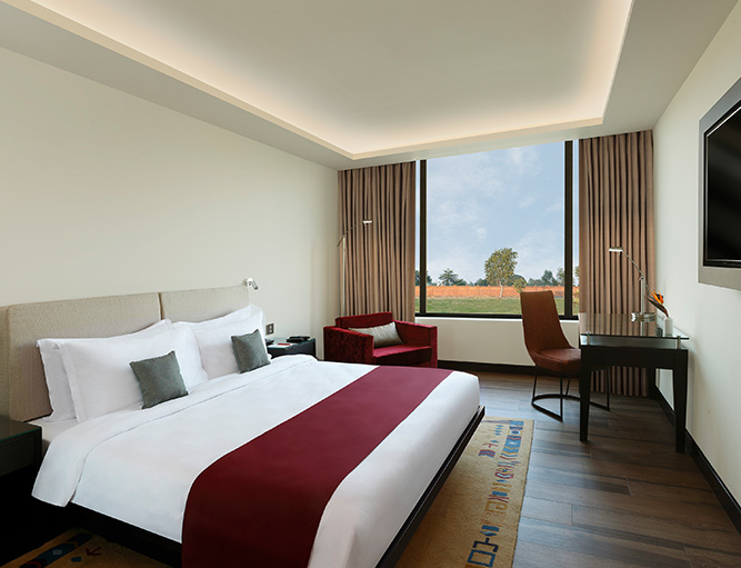 Equipped with everything needed to feel pampered on a holiday, the superior rooms at our luxury hotel in Nepal are designed to provide you with a restful night after a day filled with adventures.