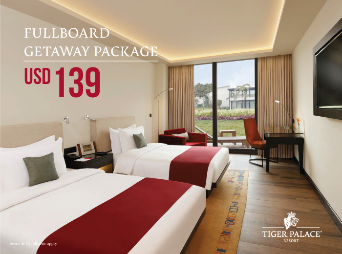 Fullboard Getaway Package tiger palace resort