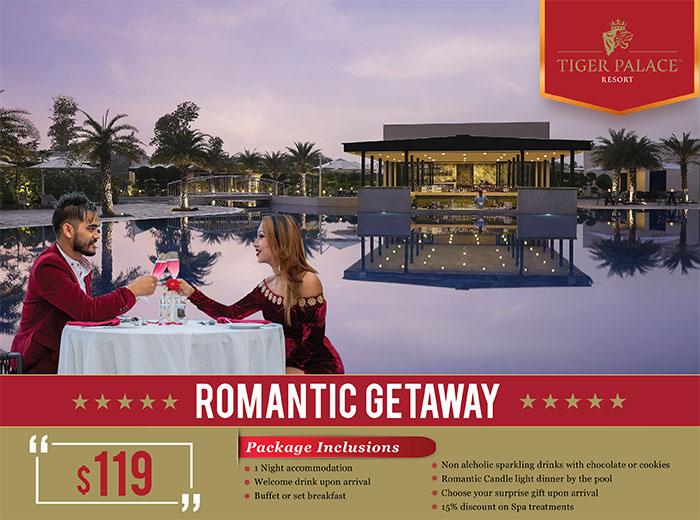 Romantic Getaway Tiger Palace Resort