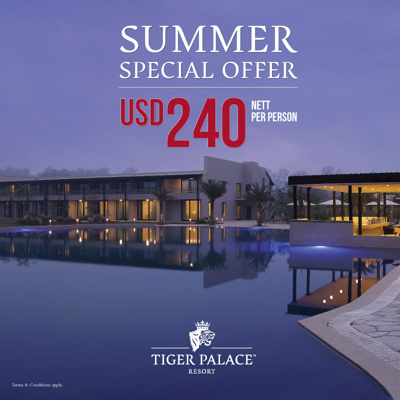 Tiger Palace resort Summer Special Offer